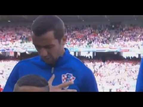 Tears Darijo Srna  for his father