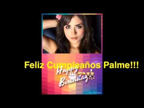 Feliz cumpleaños Palmeira Cruz!!