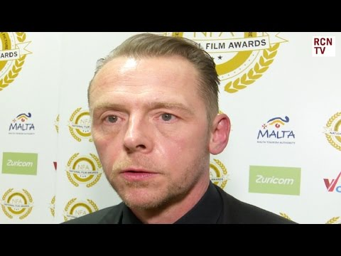 Ready Player One Simon Pegg Interview