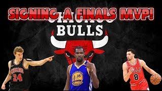NBA 2K19 CHICAGO BULLS REBUILD! SIGNING A FINALS MVP!