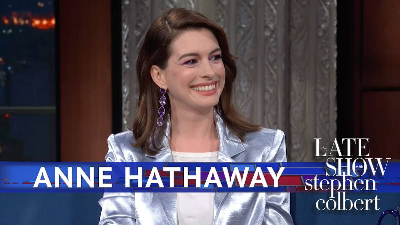 Anne Hathaway Fully Breaks Into Tears While Talking Drag Race With RuPaul