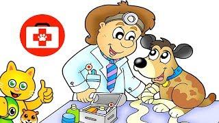 ANASTASIA E LISA, LE PICCOLE VETERINARIE - Bootsie è malata, ha bisogno di cure e coccole!