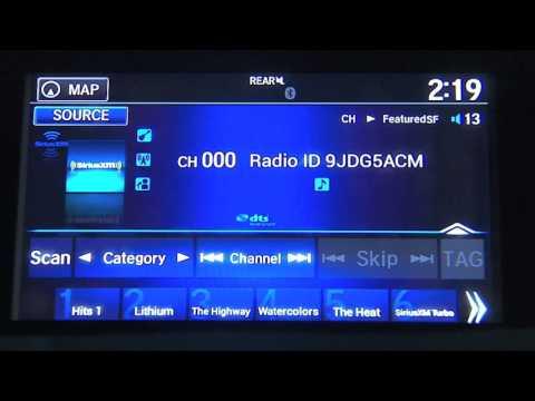 SiriusXM Basics: How to Listen in Your Honda Pilot