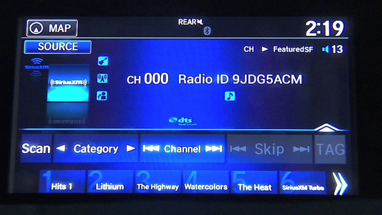 Sirius Xm Channels List 2020.Siriusxm Basics How To Listen In Your Honda Pilot