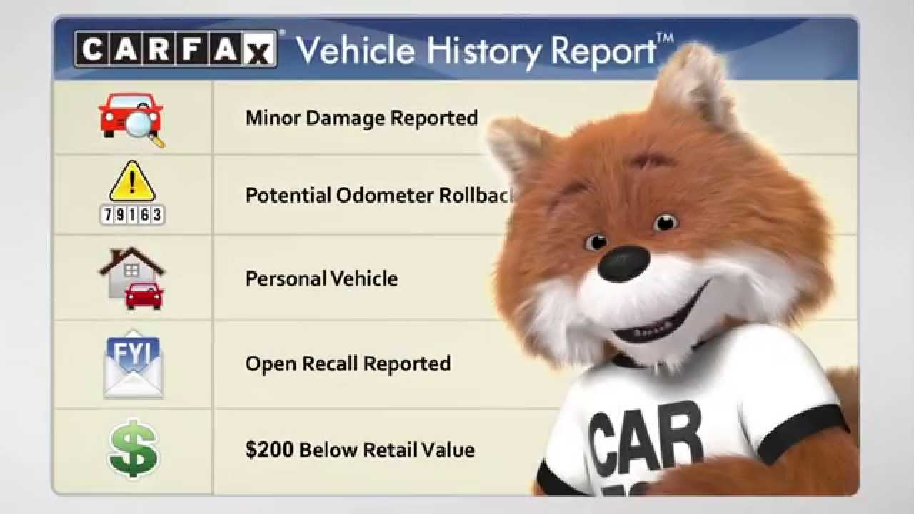 carfax vehicle history report youtube