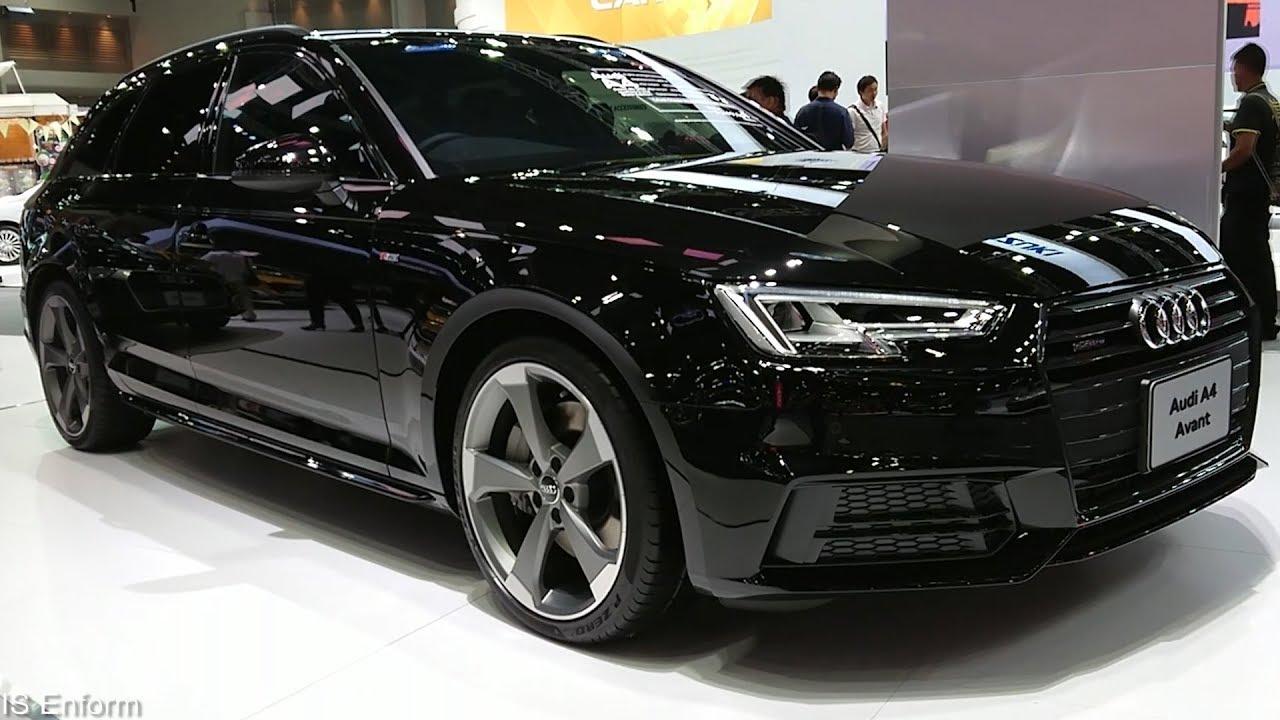 2019 Audi A4 Avant Black Edition 45 Tfsi Quattro S Line Walkaround Exterior Interior Youtube
