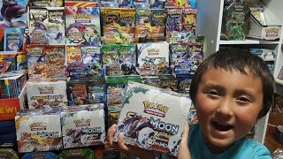OPENING A POKEMON Sun And Moon GUARDIANS RISING BOOSTER BOX!!! FULL ARTS! GX! SECRET RARE!? Pt.1!