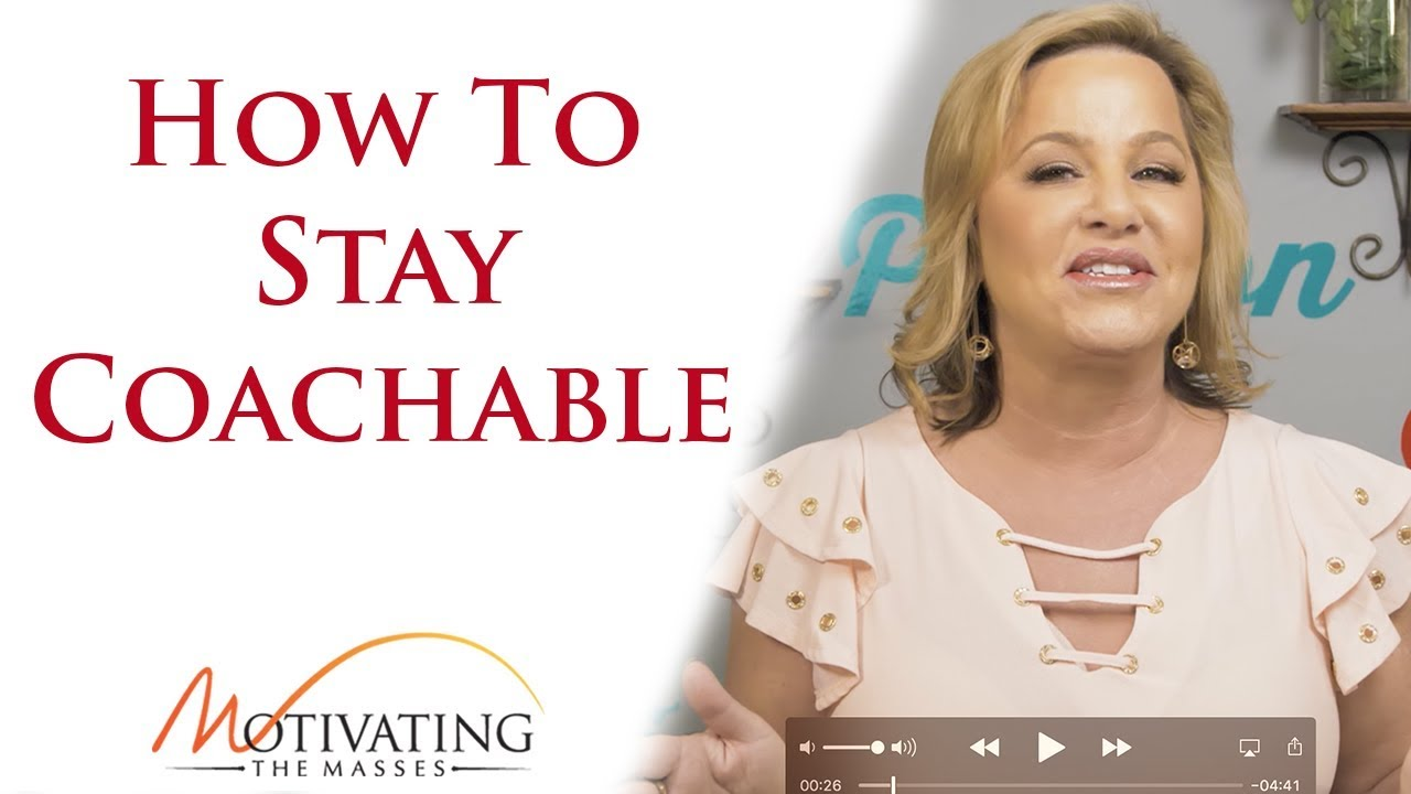 Susie Carder - How To Stay Coachable