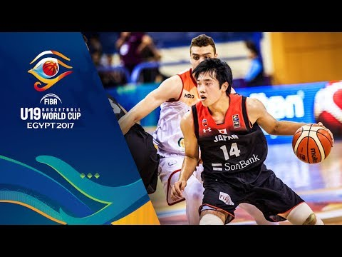 Egypt v Japan - Full Game - CL 9-12 - FIBA U19 Basketball World Cup 2017
