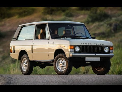 37dd016b67 1979 Range Rover 2 door test drive SOLD at Modern Classics - YouTube