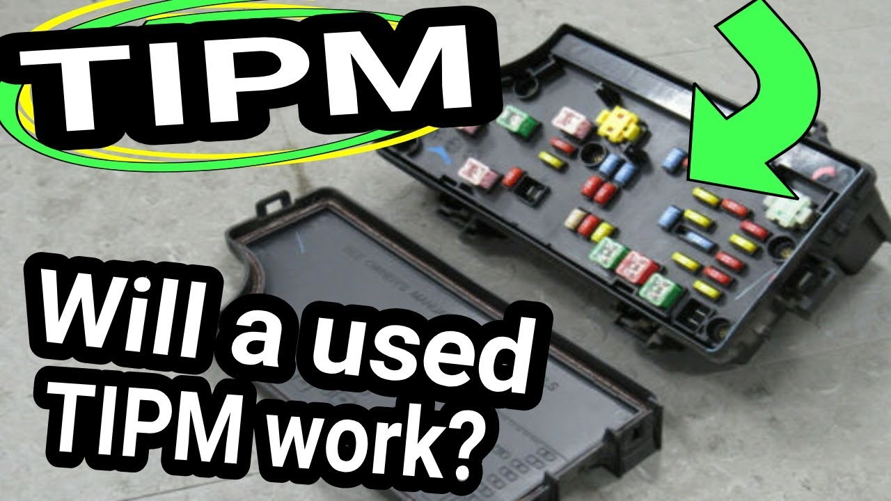 TIPM Used, from the junk yard  Will TIPM work? Will it need Programmed?