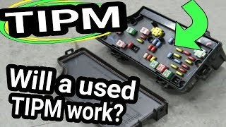 TIPM Used, from the junk yard. Will TIPM work? Will it need Programmed?