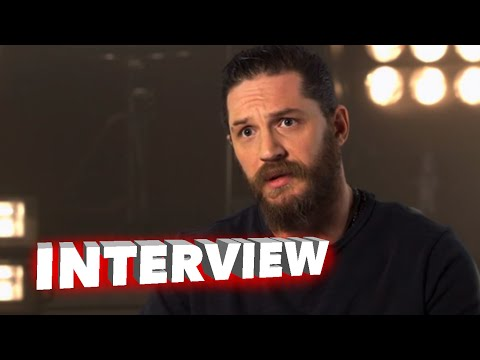 """Mad Max: Fury Road: Tom Hardy """"Max Rockatansky"""" Behind the Scenes Interview"""