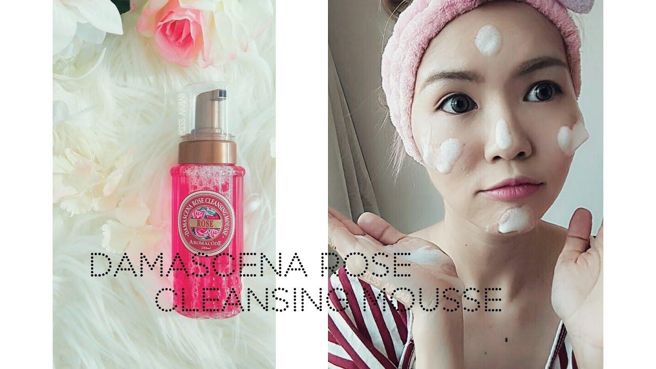 Arwin Damascena Rose Cleansing Mousse 雅闻玫瑰氨基酸净白洗卸二用慕丝B12升级版