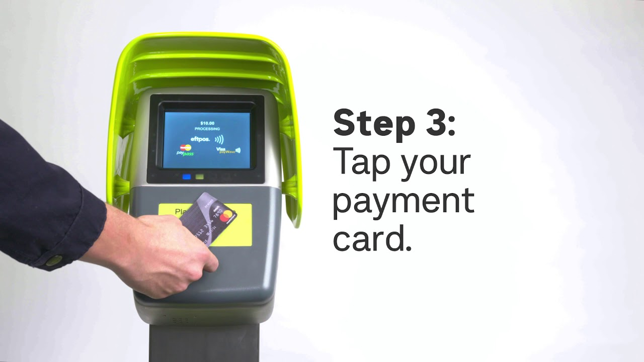 Top up faster with a Quick Top Up machine - Public Transport