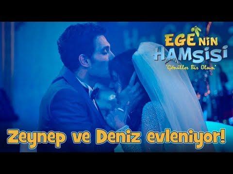 Zeynep ve Deniz'in nikah'ı - Ege'nin Hamsisi 23.Bölüm