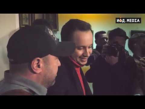 Репортаж с пресс-конференции Дениса Манжосова 11.04.2019