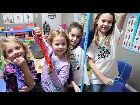 Making Slime at Toy School |