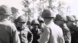JFK Visits Fort Stewart, Georgia, in the aftermath of the Cuban Missile Crisis » November 26, 1962