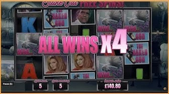 NAKED GUN BIG WIN!! Blueprint Online Slot