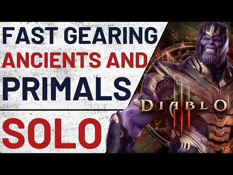 Fast Gearing SOLO Guide - Diablo 3