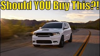WHY YOU SHOULD BUY THE NEW DODGE DURANGO SRT! [Pricing Released]