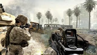 US Marine Corps in Heavy City Combat ! Call of Duty 4 Modern Warfare 1