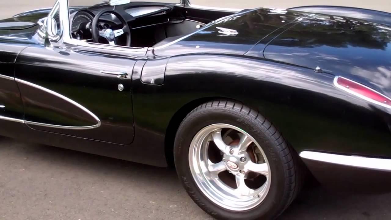 SOLD C1 1959 Black resto mod Corvette for 4 sale by Corvette Mike Com
