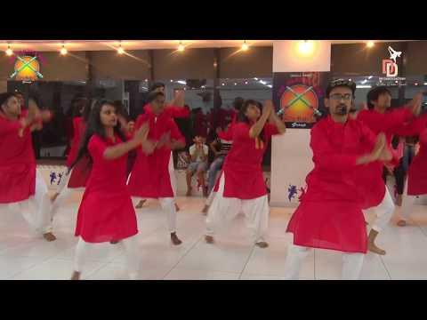 GANESHA GARBA FUSION | Morya Morya | CHOREOGRAPHED BY DD-The Dance Factory | Khelaiya Garba Class