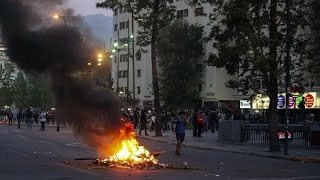Decretado el estado de emergencia en Santiago de Chile