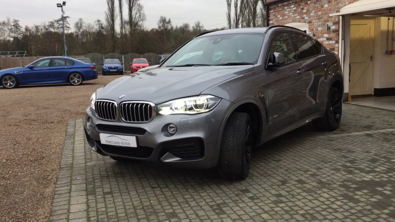 Bmw X6 Xdrive40d M Sport For Sale In Space Grey Metallic Youtube
