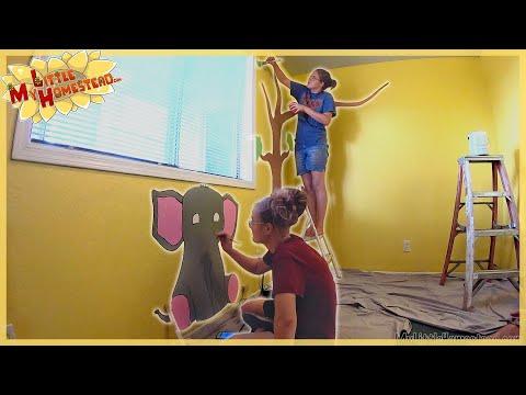 Baby Room Wall Art, HHO Generator, Epoxy Ant Hill & Hosp Update | Weekly Peek Ep204