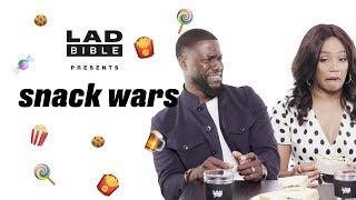 "Download Kevin Hart & Tiffany Haddish | ""This stuff tastes like roach batter!"" 