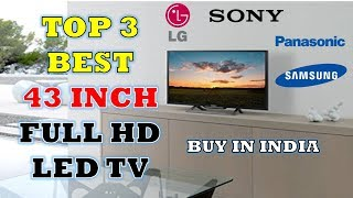 Top 3 Best 43 Inch Full HD LED TV - Reviews with Pros & Cons [Hindi]