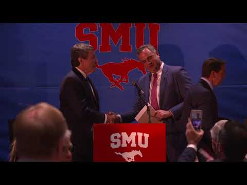 Dec. 12, 2017: SMU Head Football Coach Sonny Dykes Introductory Press Conference