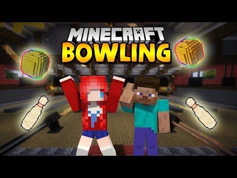Minecraft : BOWLING โยนโบลิ่งแข่งกันเถอะ Ft.Mrteekung