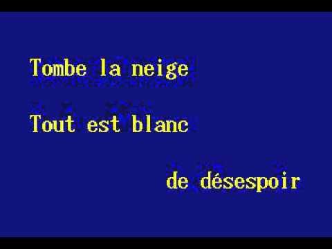 JVC15 03   Adamo, Salvatore   Tombe La Neige [karaoke]