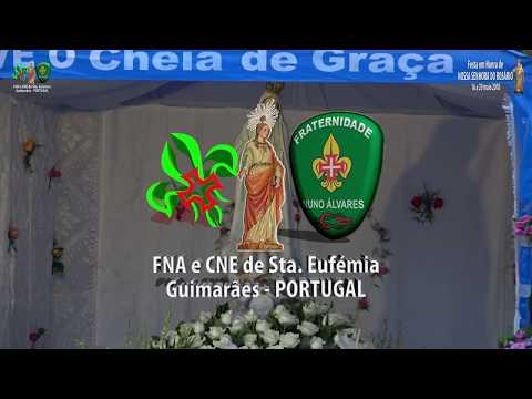 Festa Senhora do Rosário 2018 Santa Eufémia - Procissão de Velas - 19 maio - GUIMARÃES - PORTUGAL