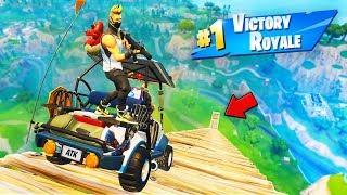 KART JUMP from *MAX HEIGHT* in Fortnite Battle Royale