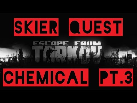 Skier Quest Chemical Part 3 German Escape from Tarkov