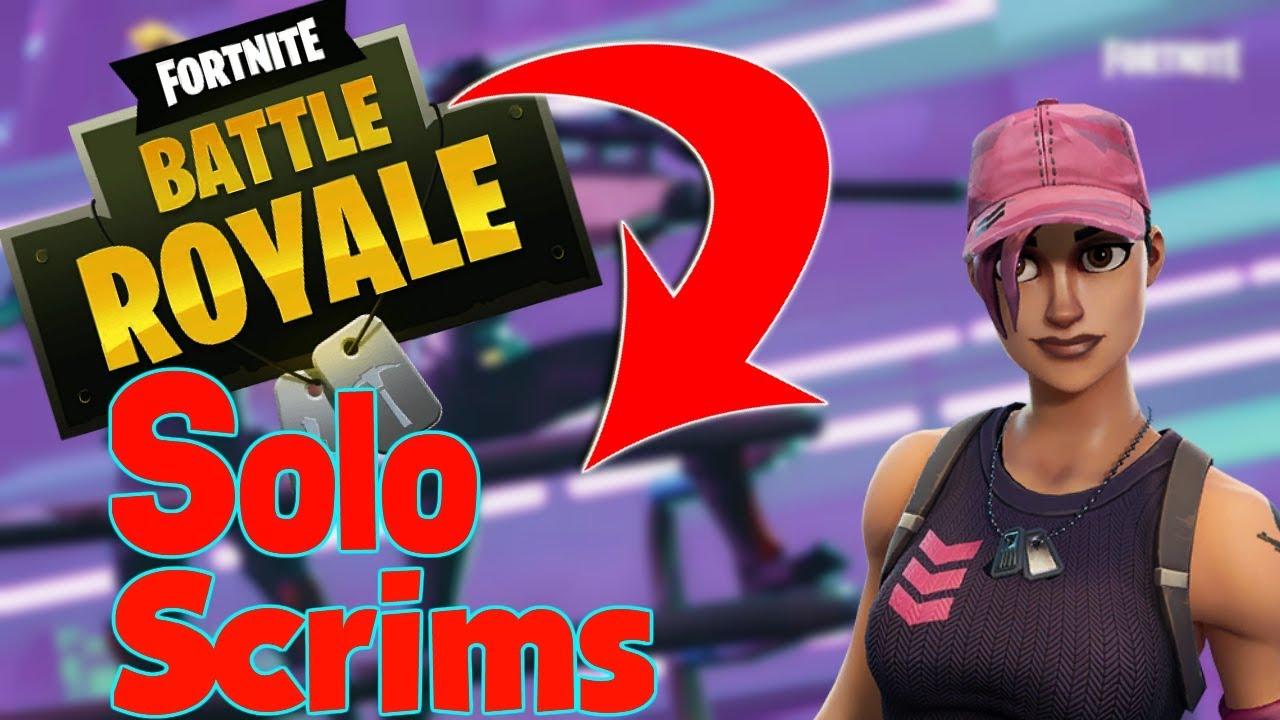 Fortnite Battle Royale Epic Solo Queue Scrims Youtube