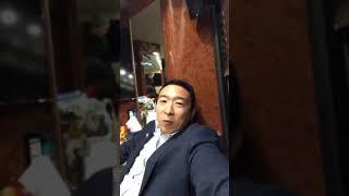 Andrew Yang Instagram Live | Yang2020 Bus Tour | Dec 11-2019