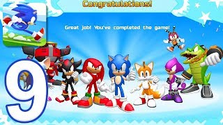 Sonic Runners Adventure - Gameplay Walkthrough Part 9 - All Characters and Bosses (iOS, Android)