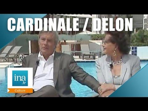 Alain Delon et Claudia Cardinale parlent du