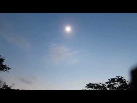 Total Solar Eclipse in Mikongo, Gabon, Africa.