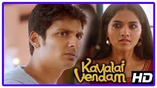 Latest Tamil Movies | Kavalai Vendam Movie Scenes | Jiiva loses his memory | Kajal Aggarwal