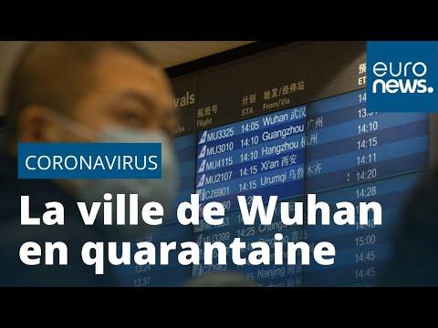 Coronavirus: la Chine tente de mettre en quarantaine toute une ville et ses 11 millions d'habitants