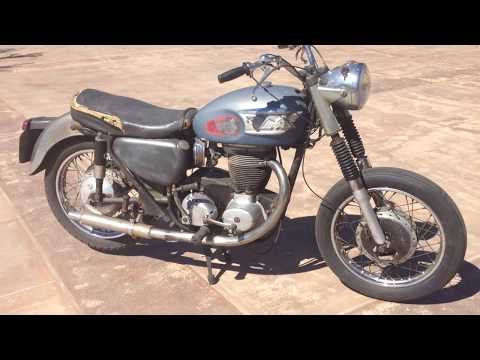 1965 Matchless G80 Touring Barn Find For Sale