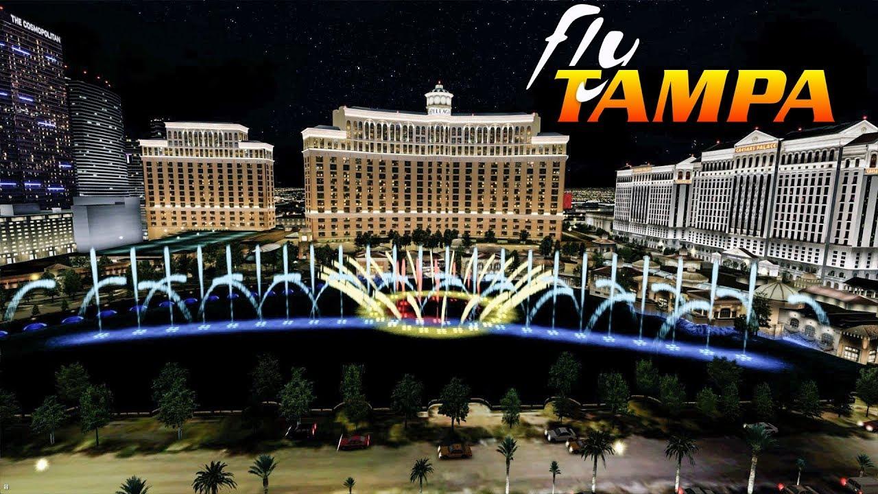 New FlyTampa-Vegas Scenery Prepar3D V4 2019
