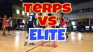 10/14/17 - Jr Terps vs Elite - Coach Fritz - Marvin & Joel Guthrie